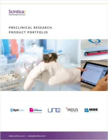 Scintica Instrumentation - Preclinical Research Product Portfolio