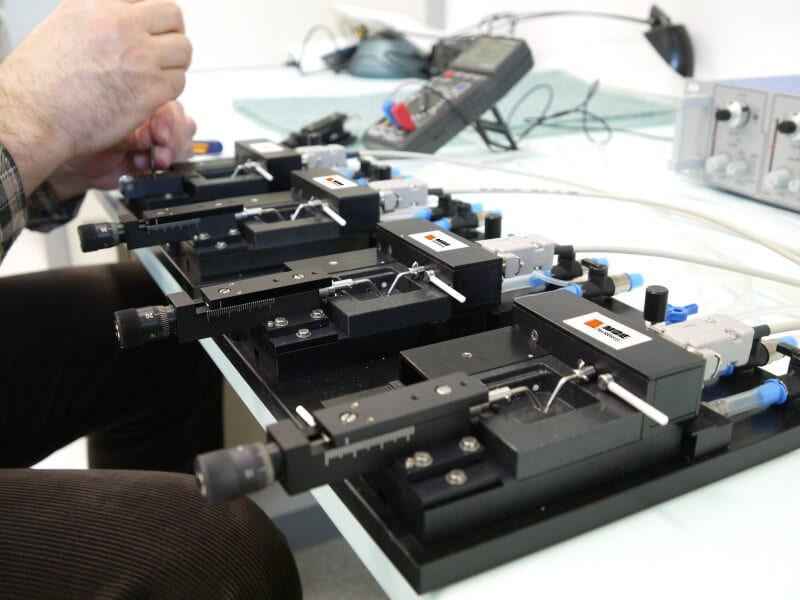 MDE GmbH - Small Vessel Wire Myographic Systems