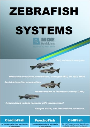 MDE GmbH - Zebrafish Systems - Catalogue