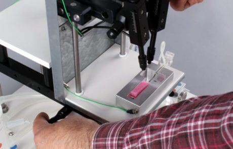 MDE GmbH - Zebrafish Systems - Measuring Block Positioning