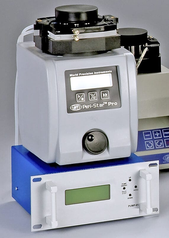 MDE GmbH - Isolated Heart Perfusion - Pump with Pump Controller