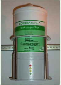 UNO BV - Rest Gas Filter / Absorber - Contraflurane Filter - Fill Level Control Unit