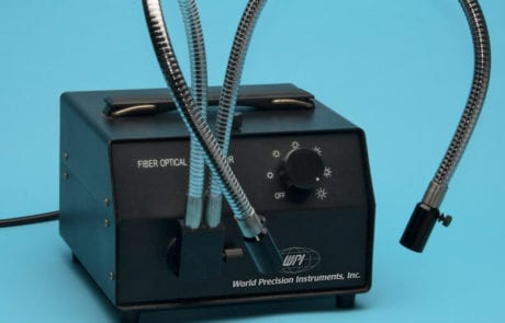 MDE GmbH - Small Vessel Wire Myograph Systems - Z-LITE Fiber Optic Illuminator